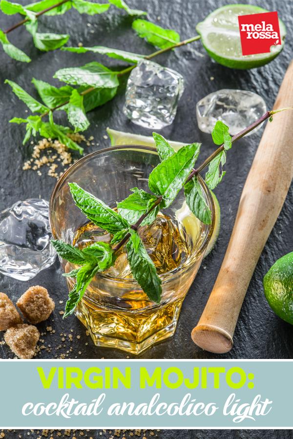 virgin mojito: cocktail analcolico light