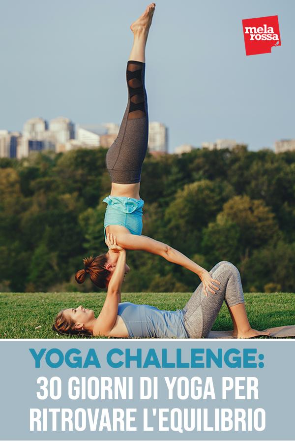 yoga challenge: 30 giorni per ritrovare armonia