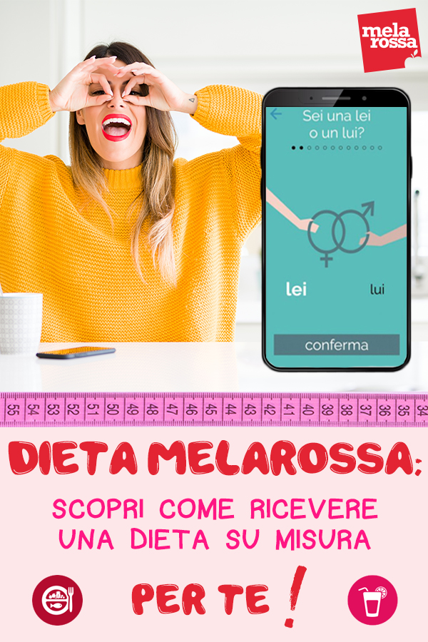 dimagrire con app Melarossa