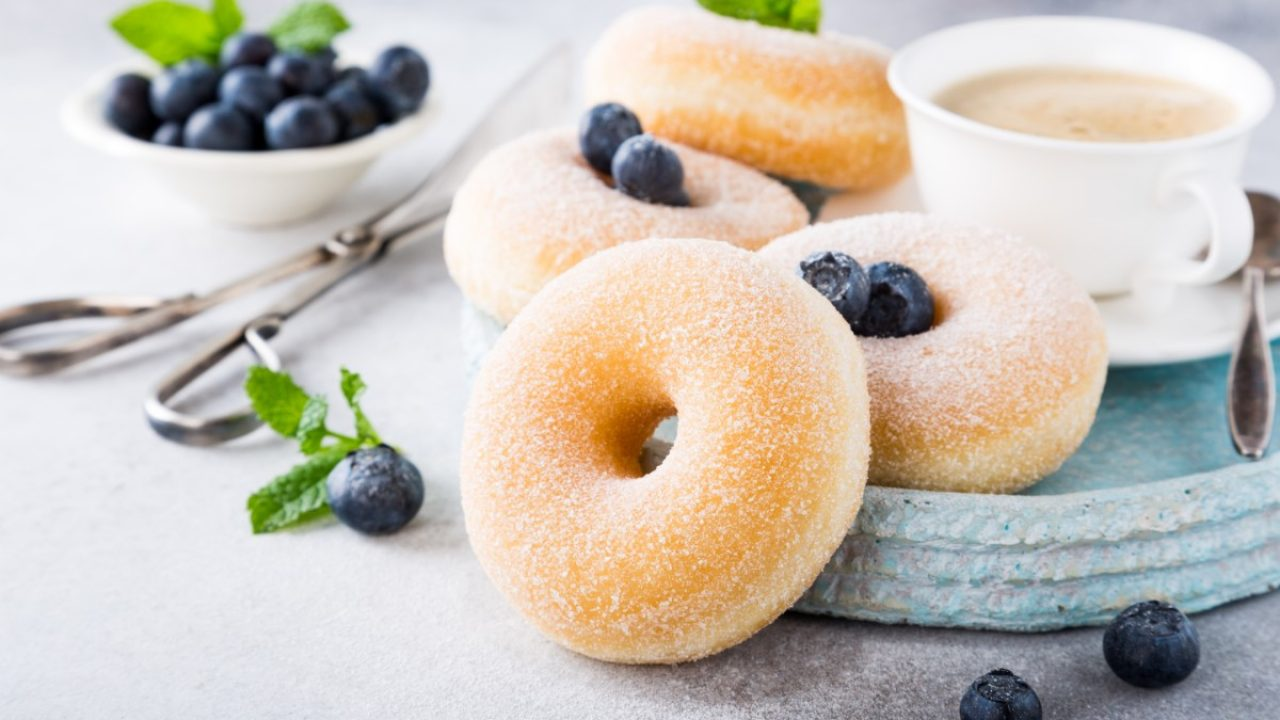 Ricetta Dei Donuts Al Forno.Donuts Al Forno Morbidissimi E Senza Burro Melarossa
