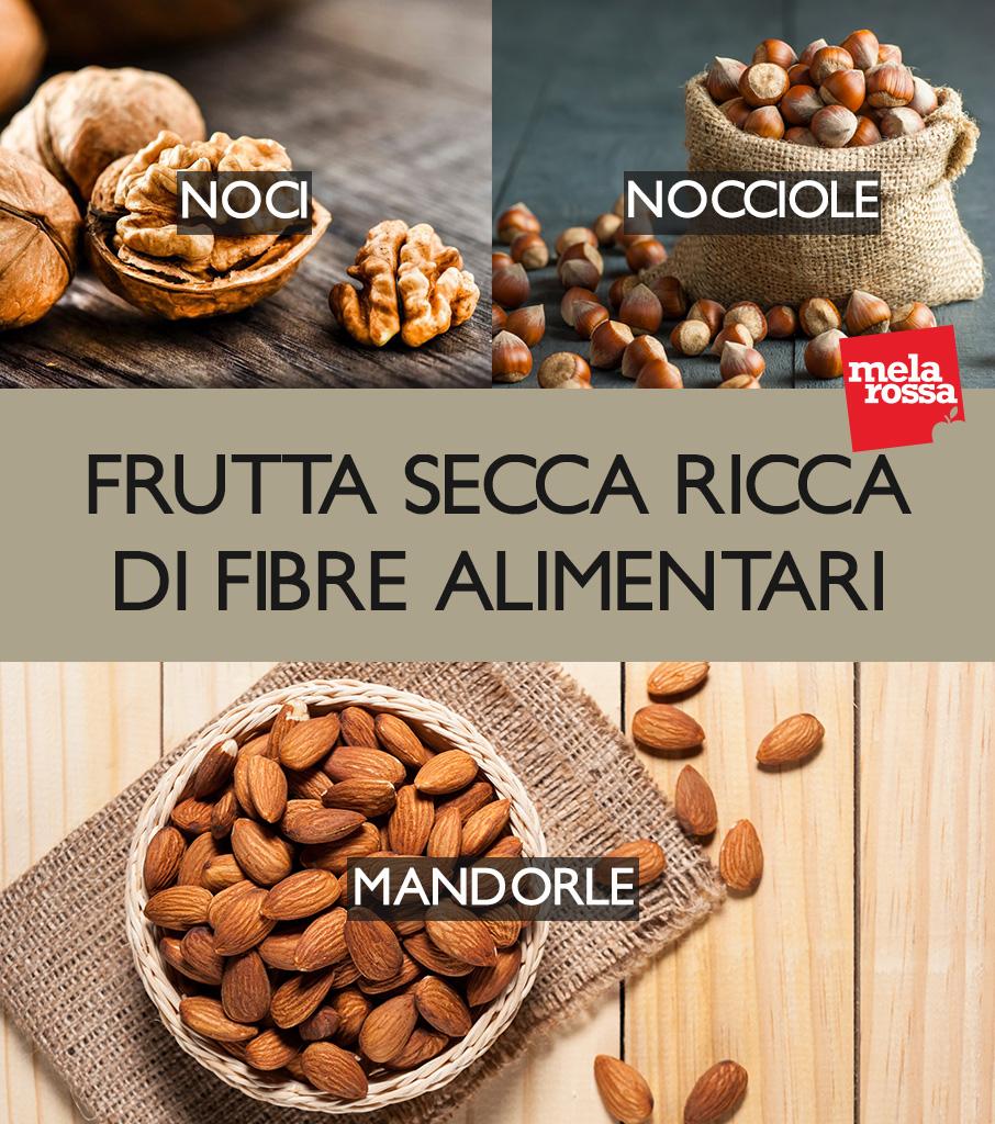 fibre alimentari: la frutta secca che ne contiene di più