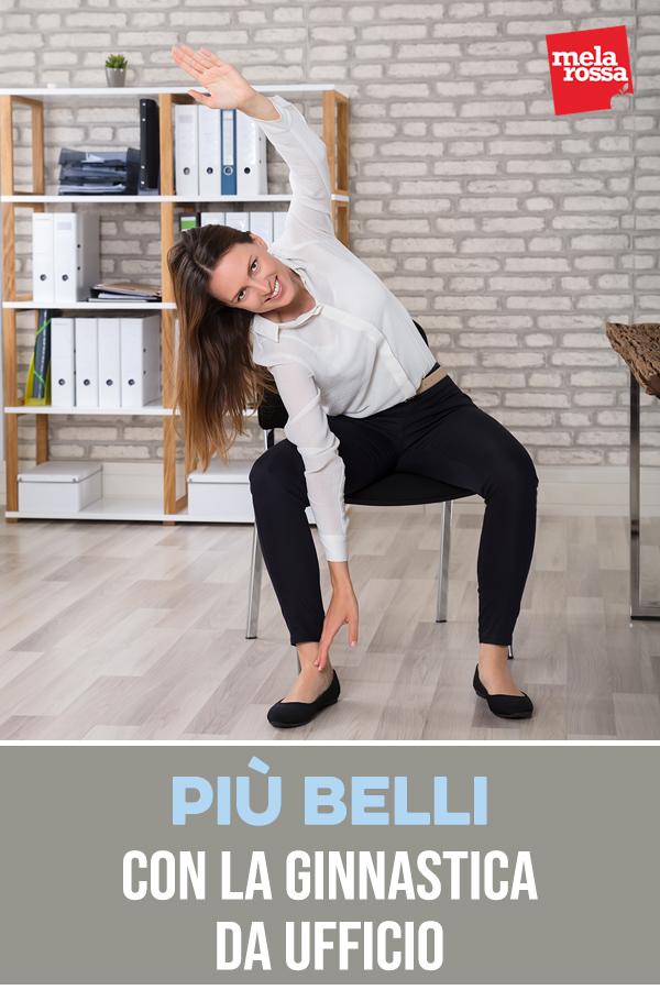 ginnastica da ufficio: esercizi per tonificare braccia, addominali e glutei