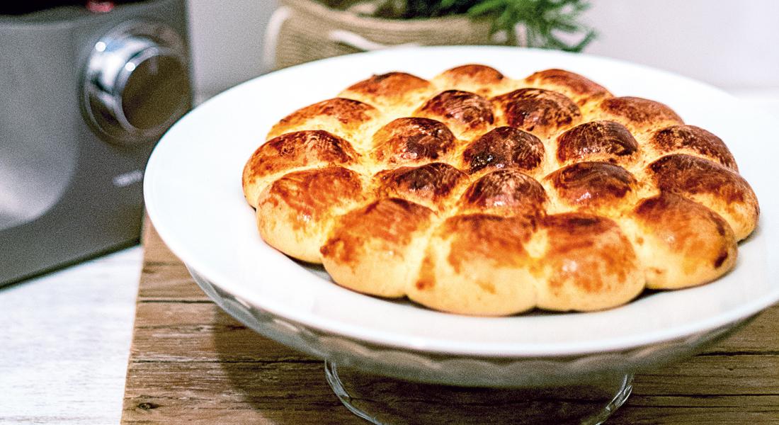 pane fatto in casa: il danubio