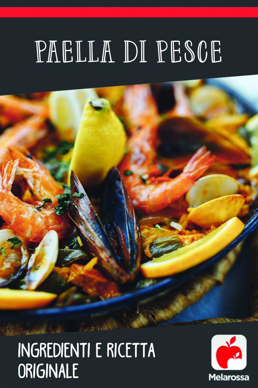 ricetta paella di pesce