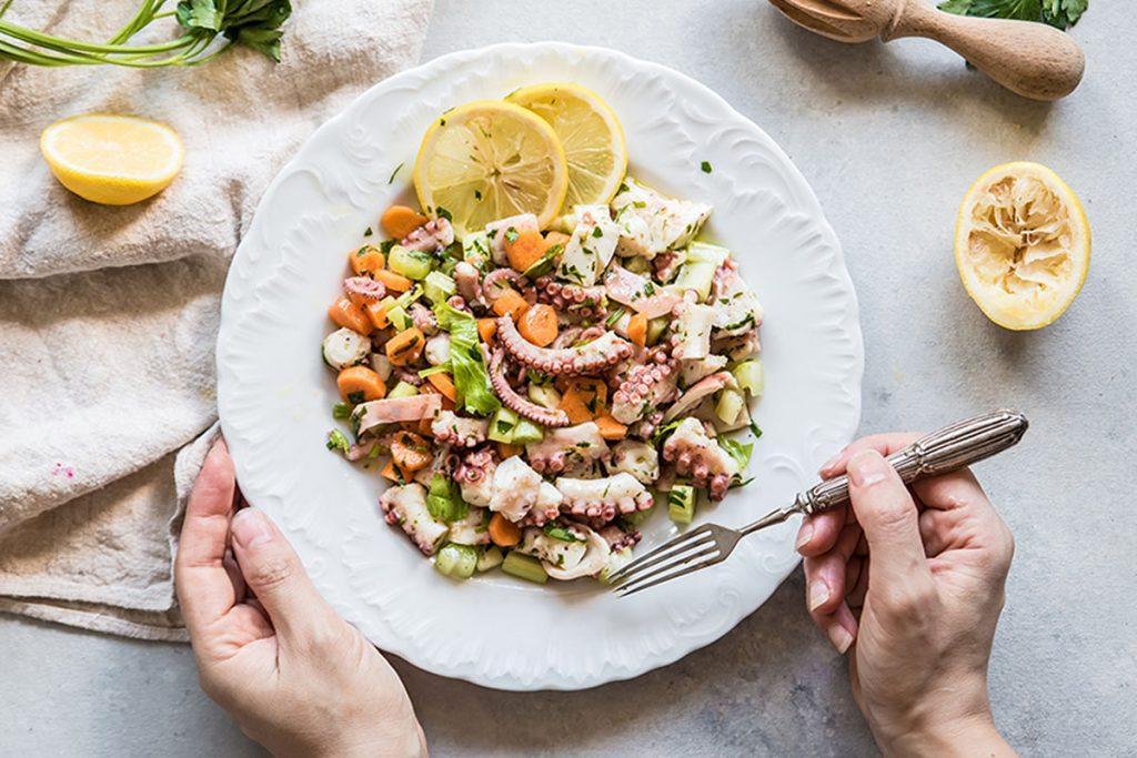 ricette ferragosto insalata di polpo