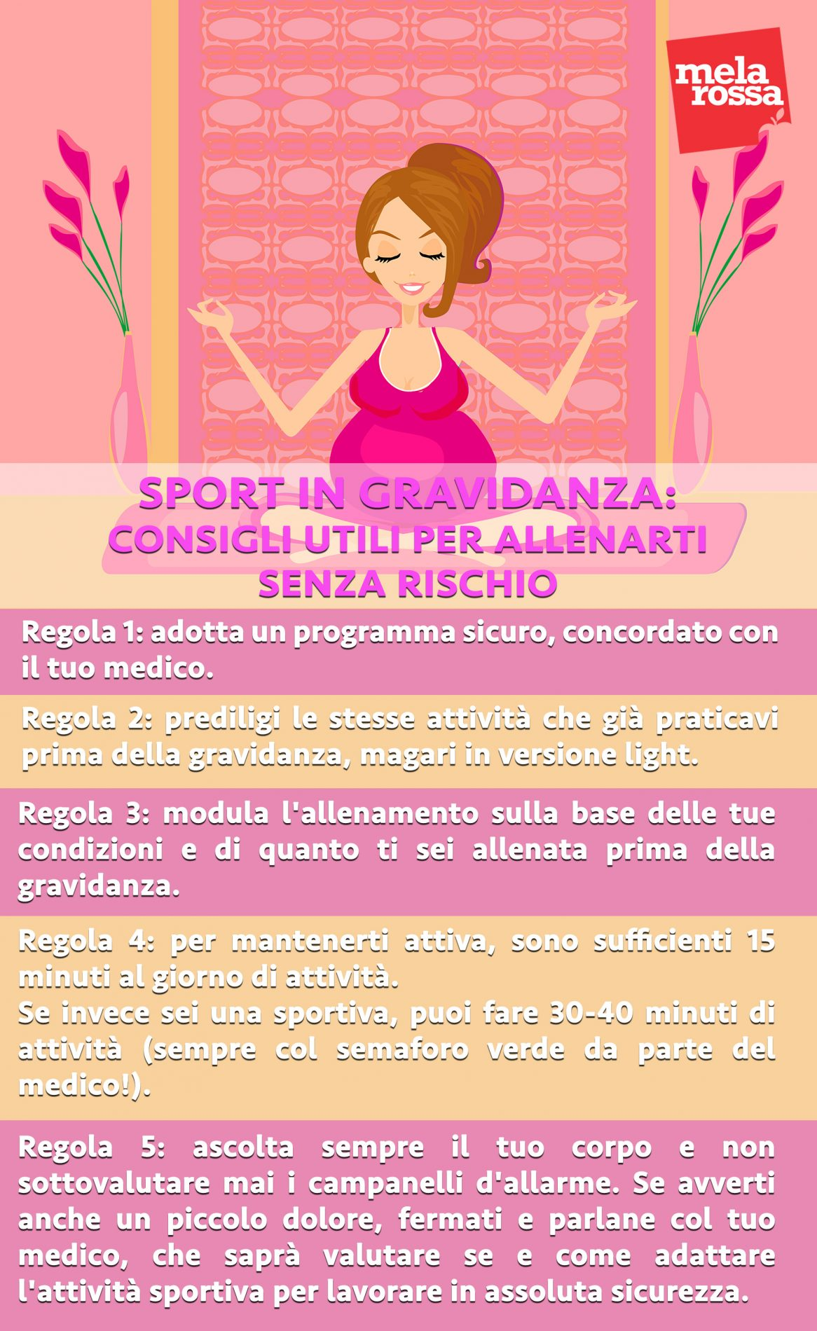 sport in gravidanza : consigli per allenarti