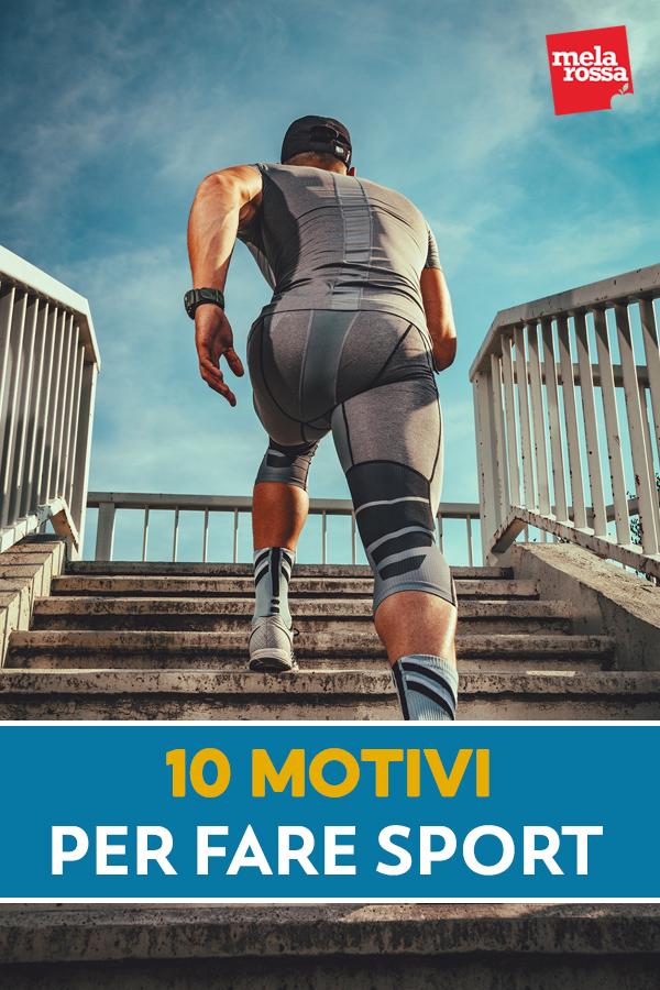 10 motivi per fare sport