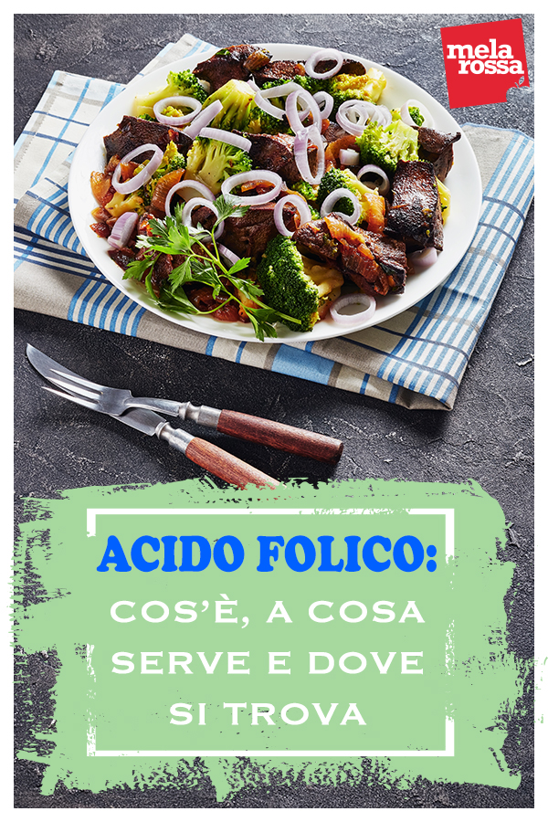 acido folico: alimenti ricchi