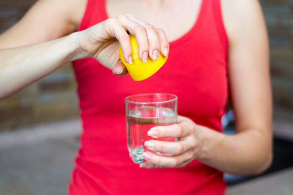 acqua e limone è diuretico