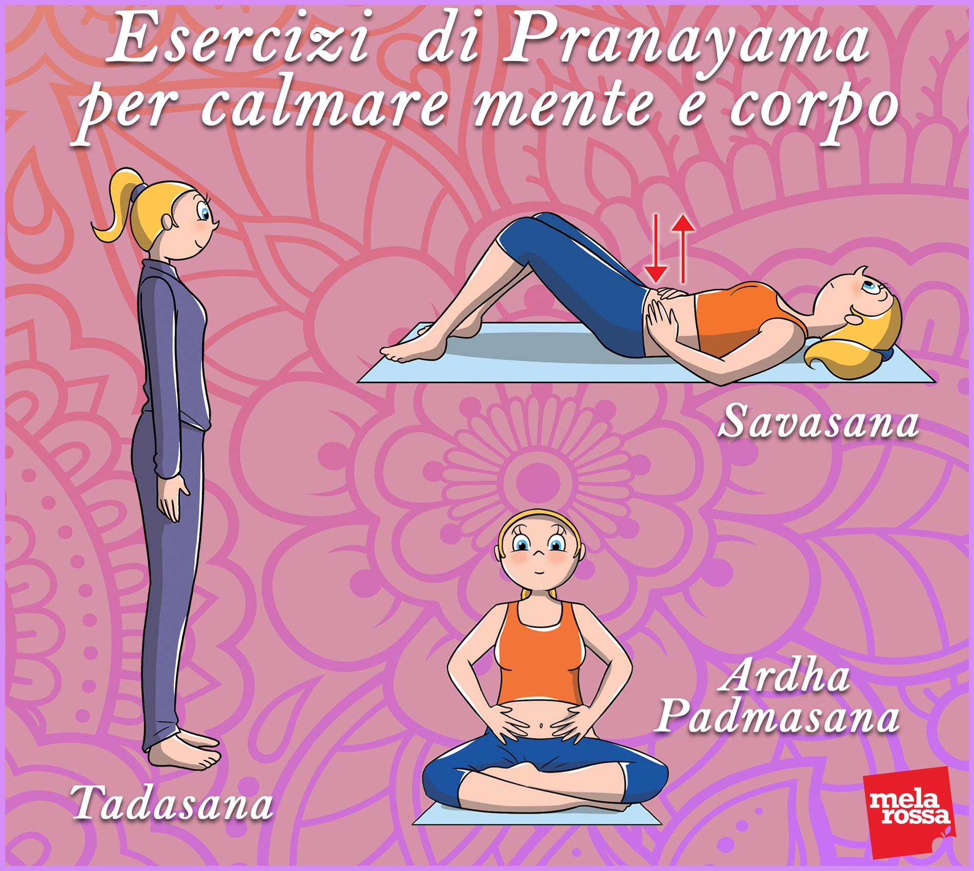 allenamento yoga: respirazione