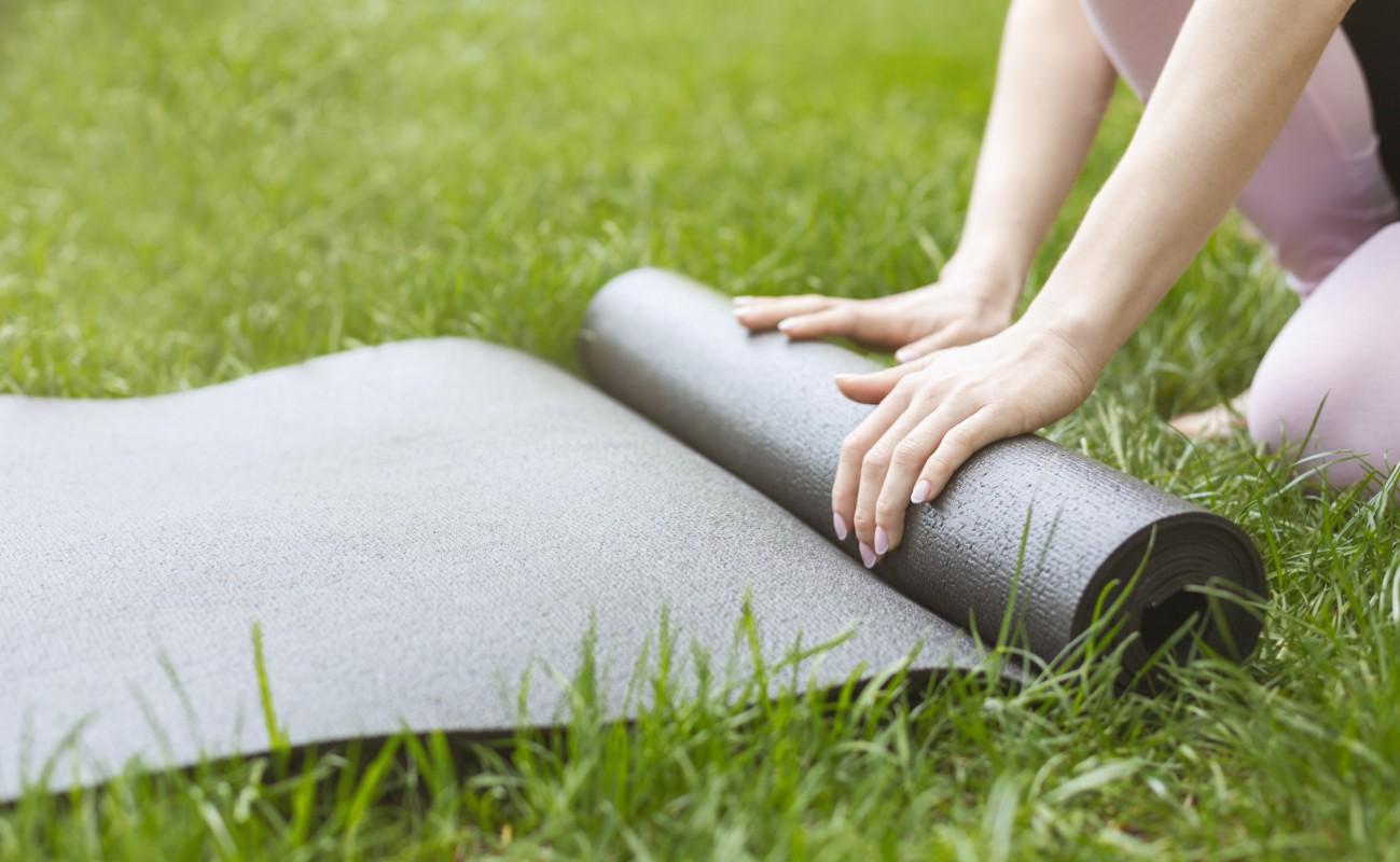 allenamento yoga: tappetino yoga da comprare