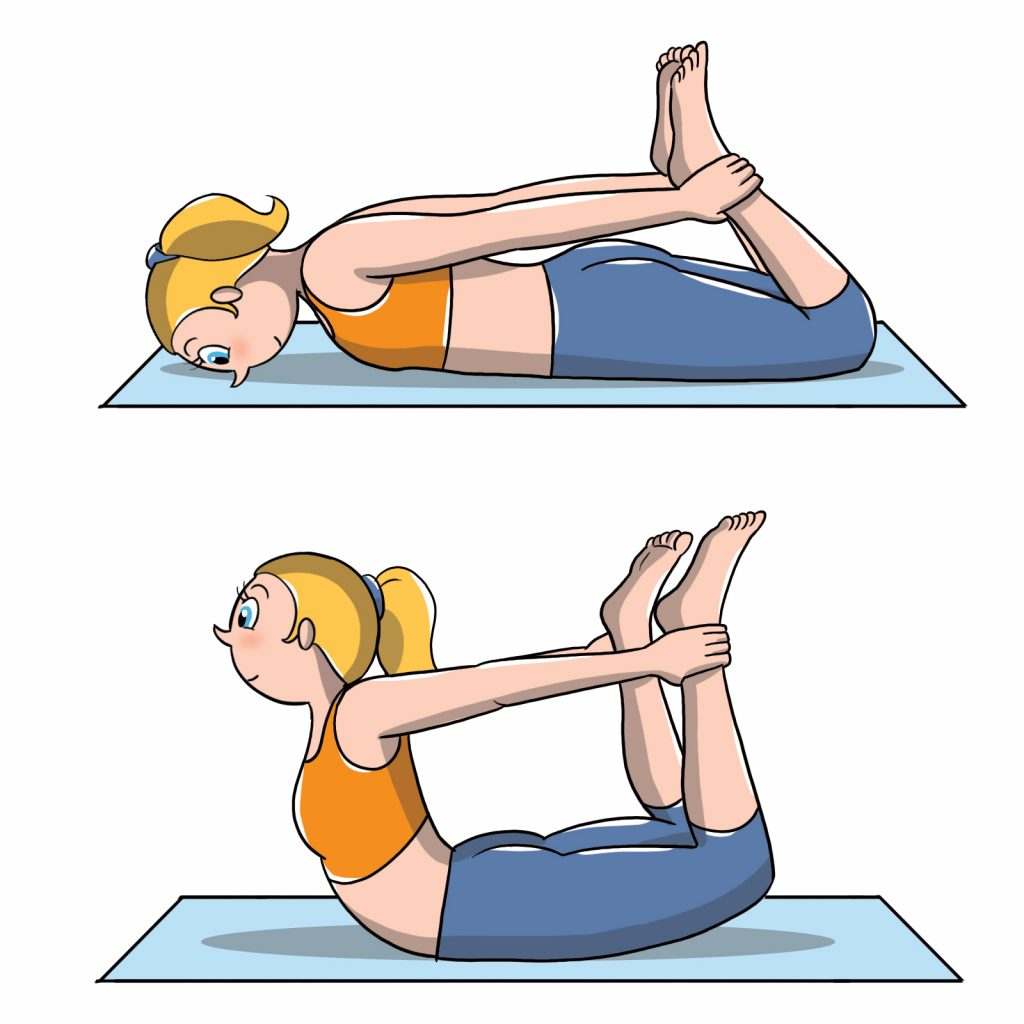 posizioni yoga arco