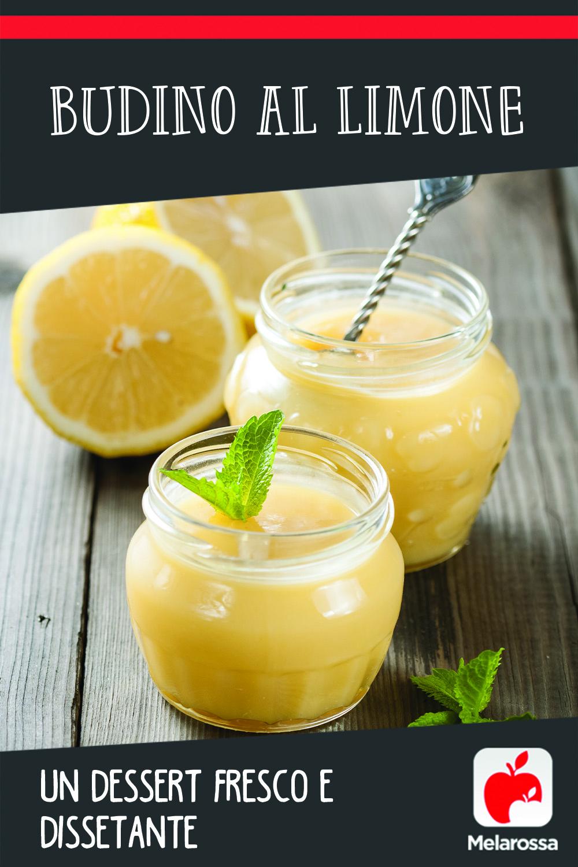 budino al limone: ricetta