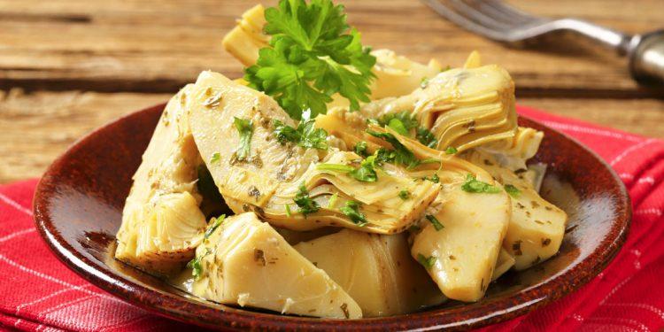 carciofi al tofu