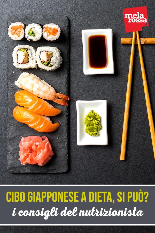 cibo giapponese a dieta