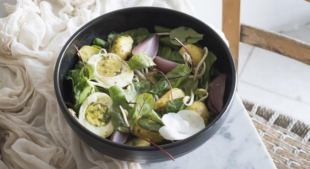 cuore sano: insalata