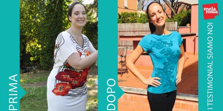Francesca Paola: - 34 chili con la dieta Melarossa