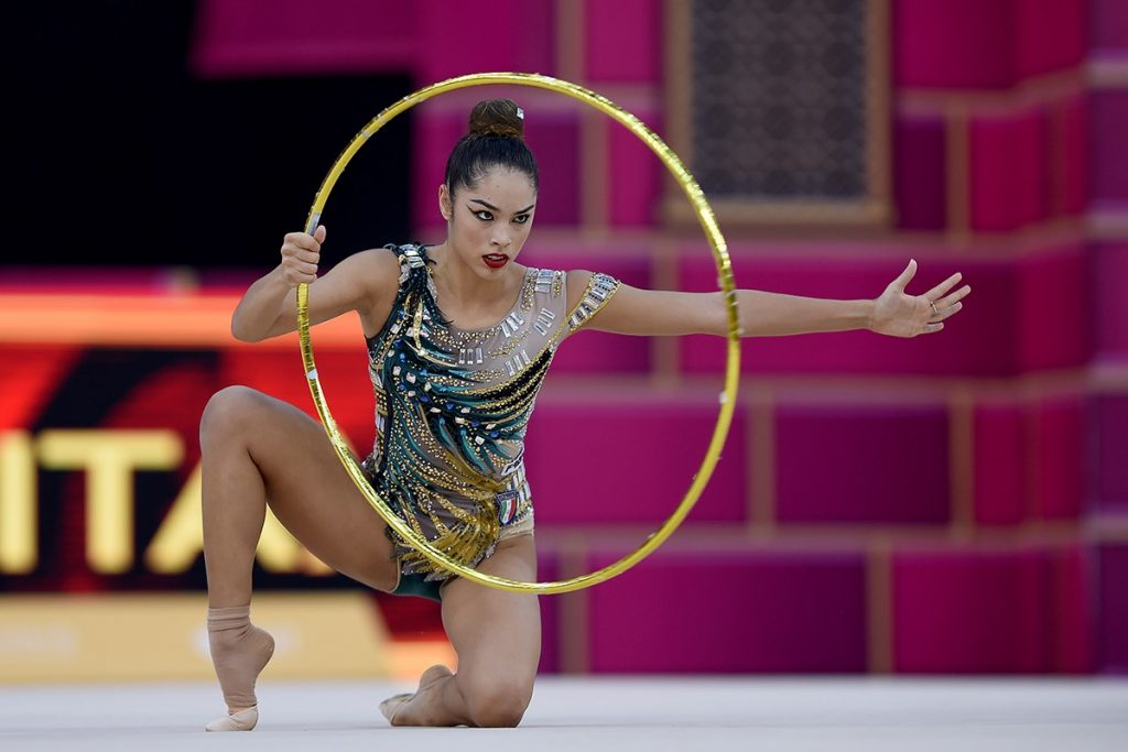 Mondiale di ginnastica ritmica: Alexandra Agiurgiuculese