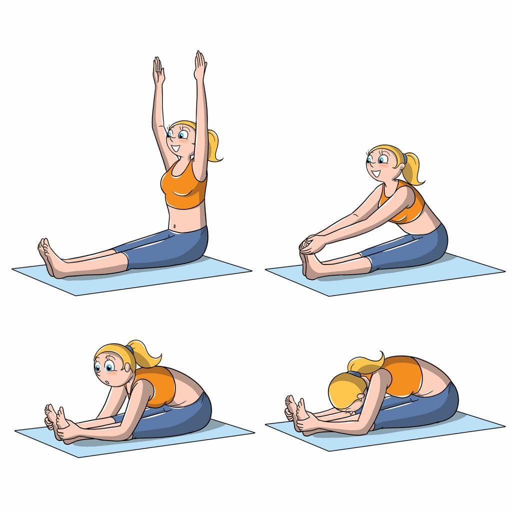 posizioni yoga pinza