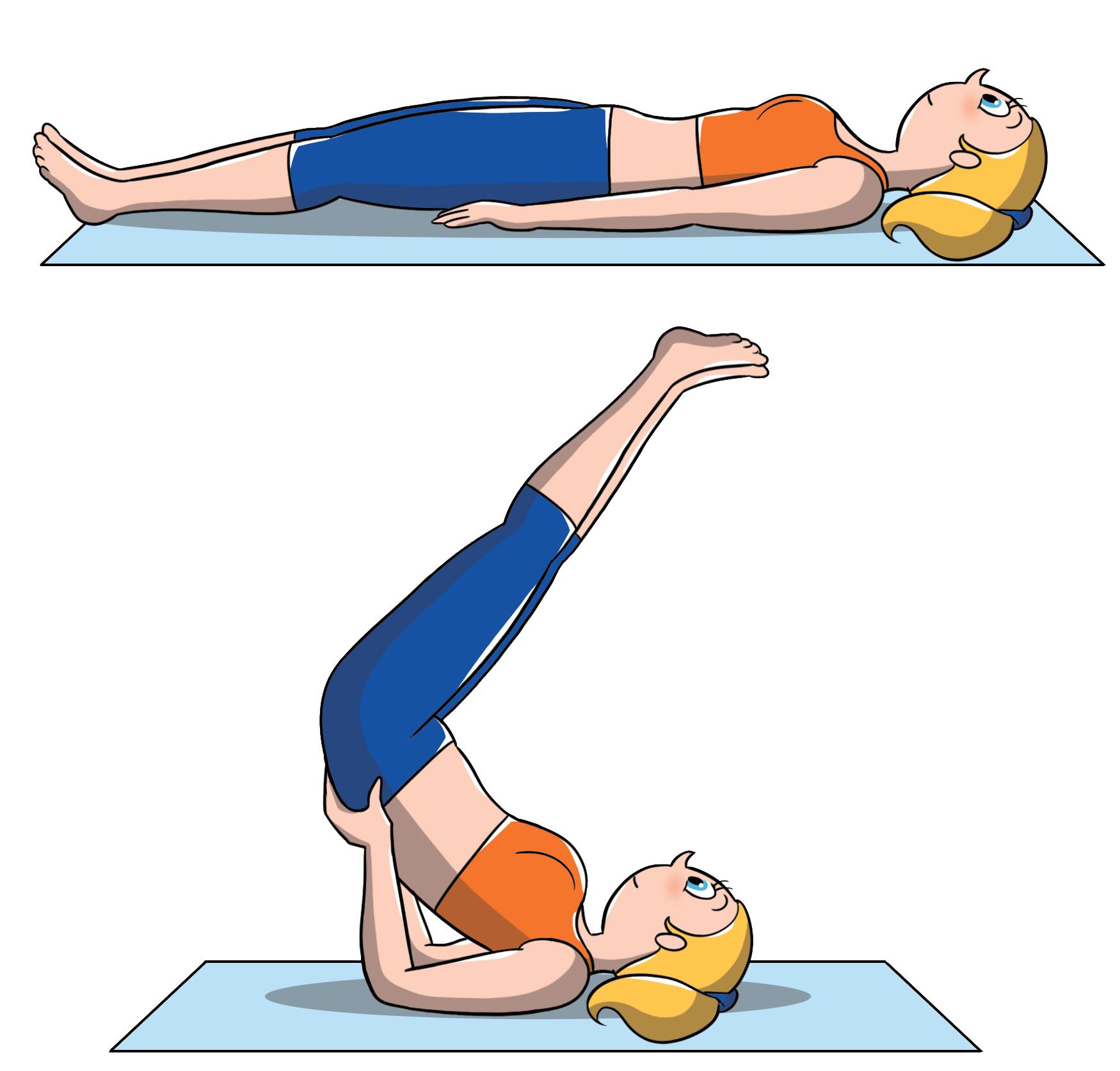 posizioni yoga intermedio: semicapovolta