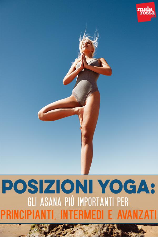 posizioni yoga illustrate per principianti ed avanzati
