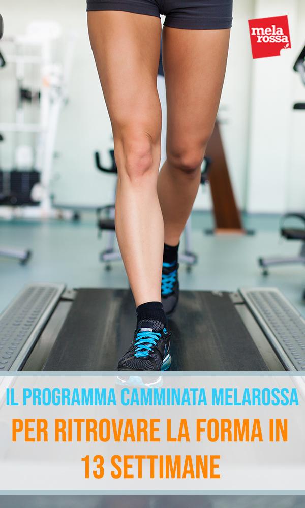 camminata: il programma di allenamento