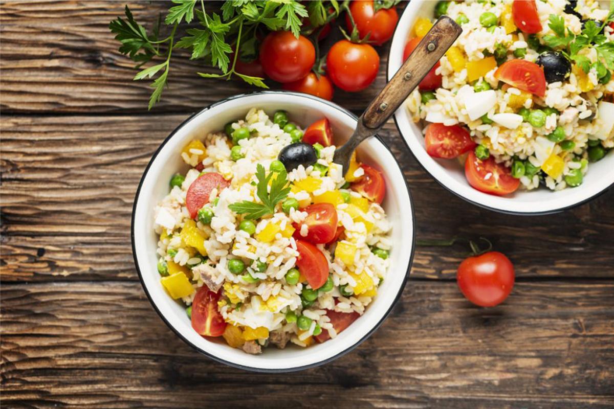 Ricette con riso: insalata di riso