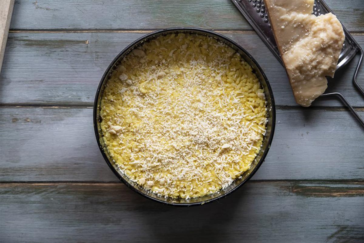 Ricette con riso: riso gratinato al forno