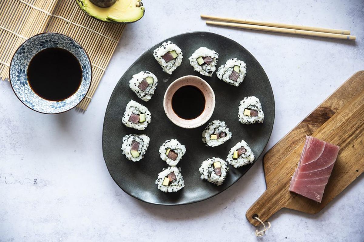Ricette con riso: uramaki