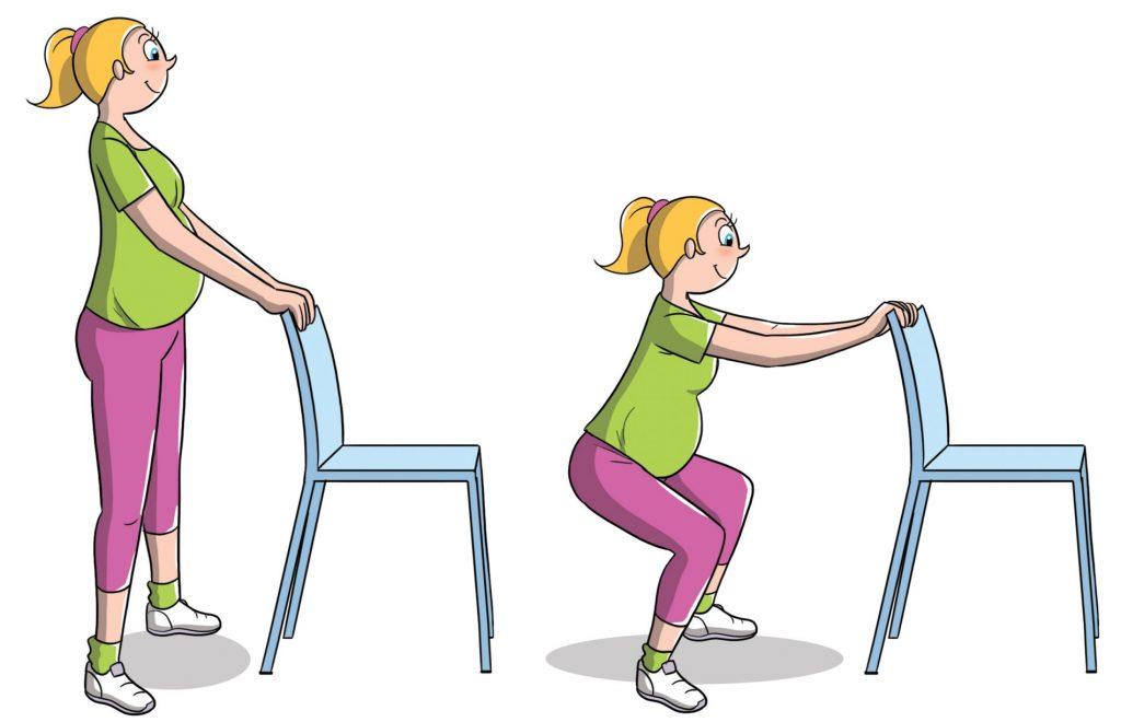 esercizi da fare in gravidanza per rimanere in forma