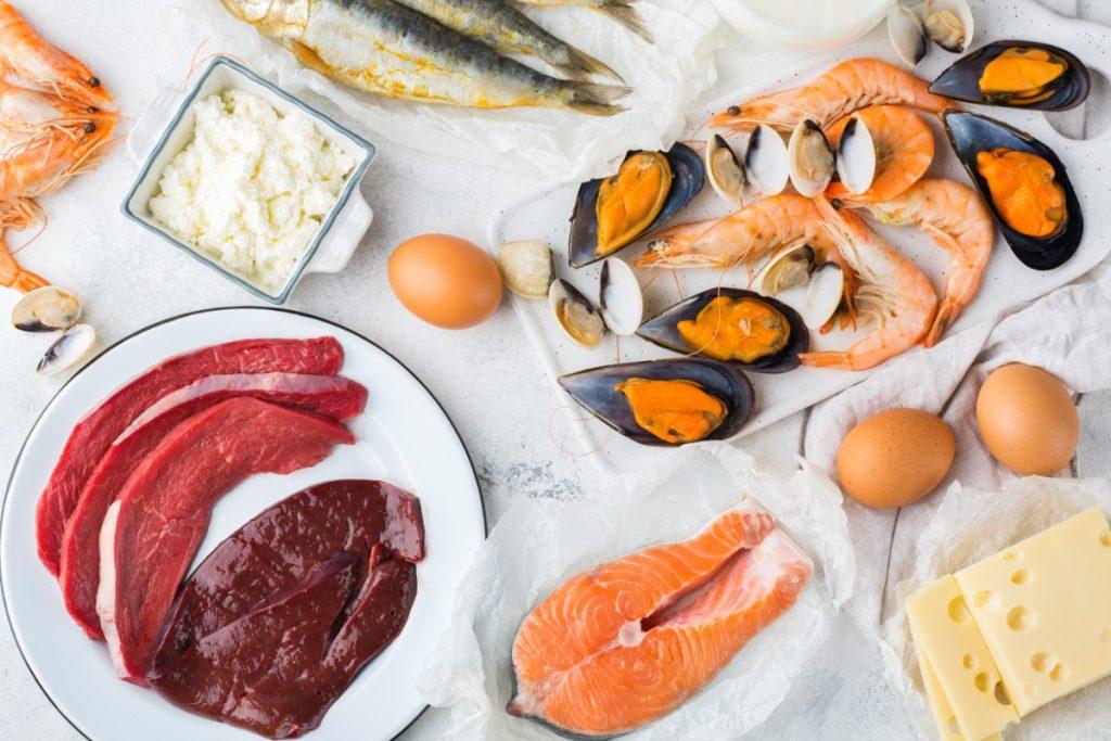 vitamina B12: alimenti ricchi