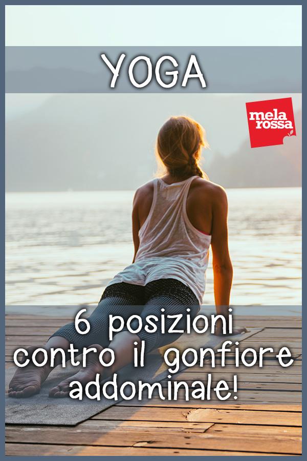 Yoga: 6 posizioni contro il gonfiore addominale