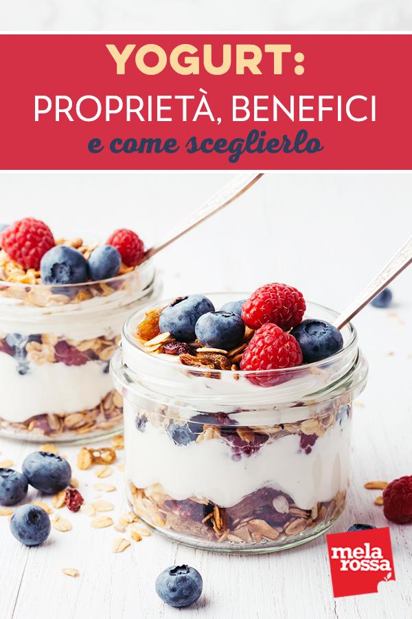 yogurt proprietà benefici