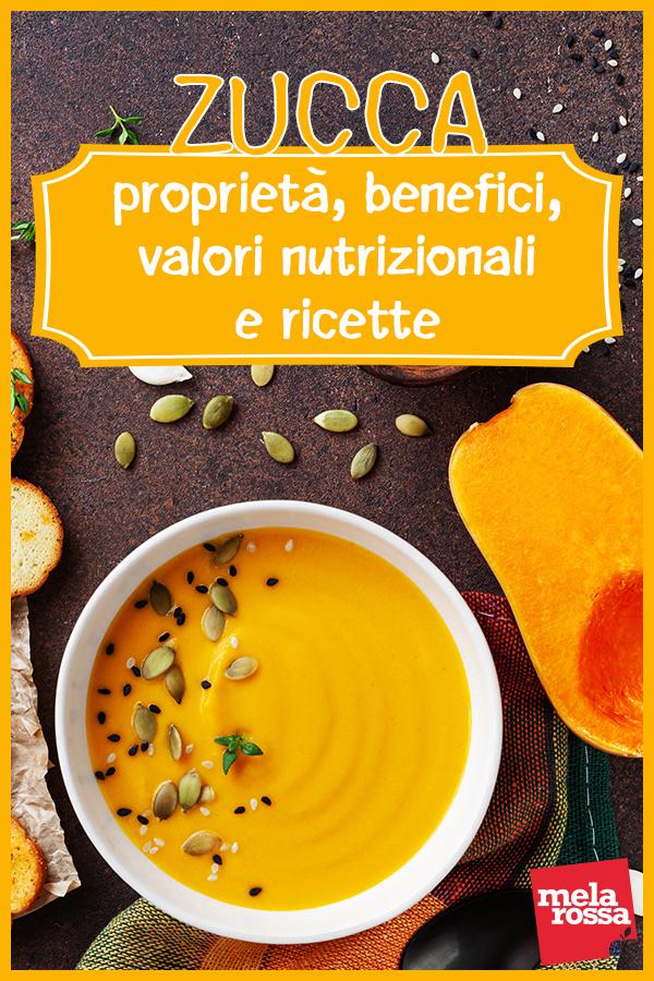 Zucca: benefici e ricette