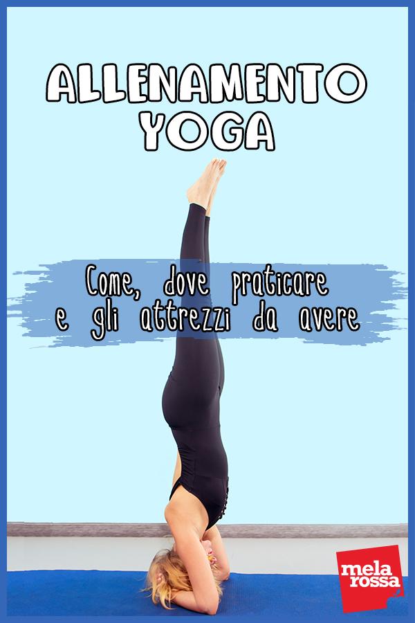 allenamento yoga: attrezzatura e esercizi da fare