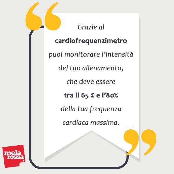 camminata attiva: cardiofrequenzimetro