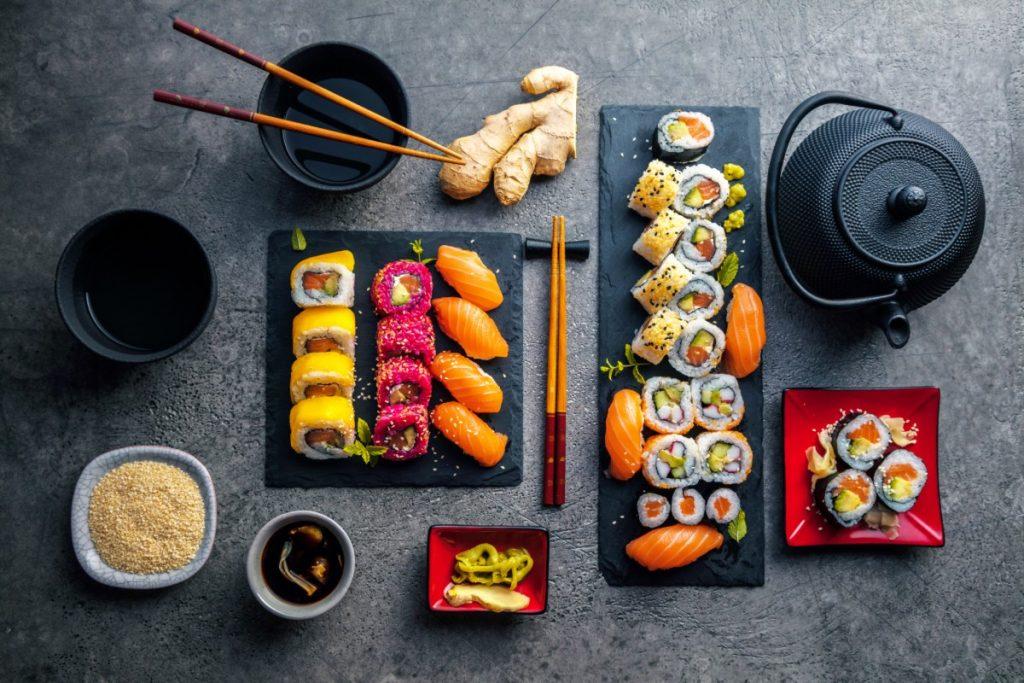 cibo giapponese: menu ideale