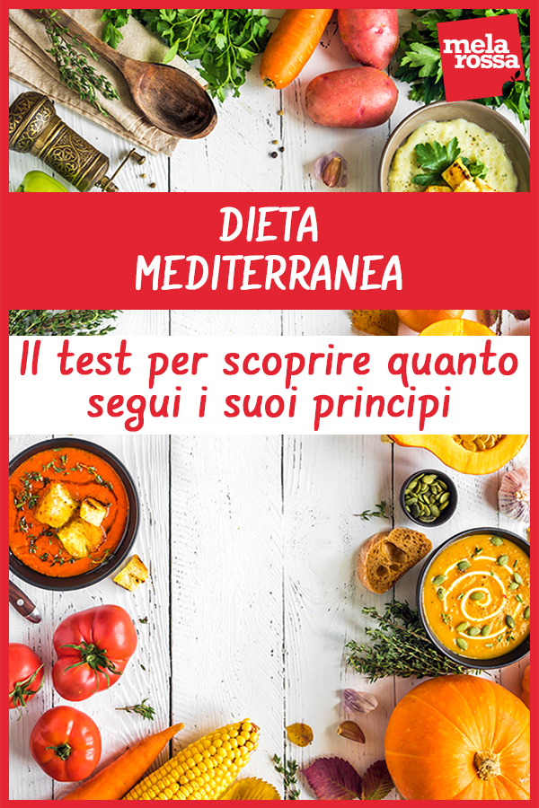 dieta mediterranea test per scoprire quanto la segui