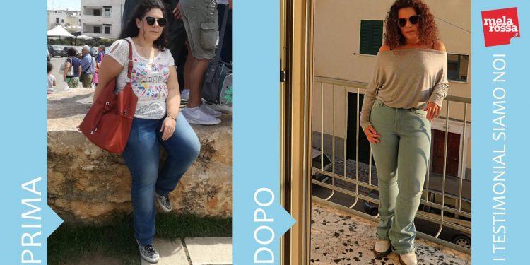 dieta melarossa azzurra 23 kg