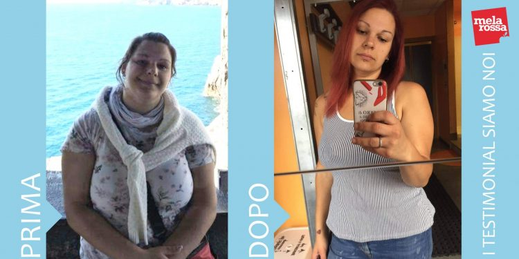 Dieta Melarossa: Valentina perde 20 chili