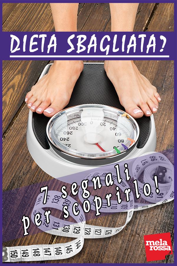 dieta sbagliata