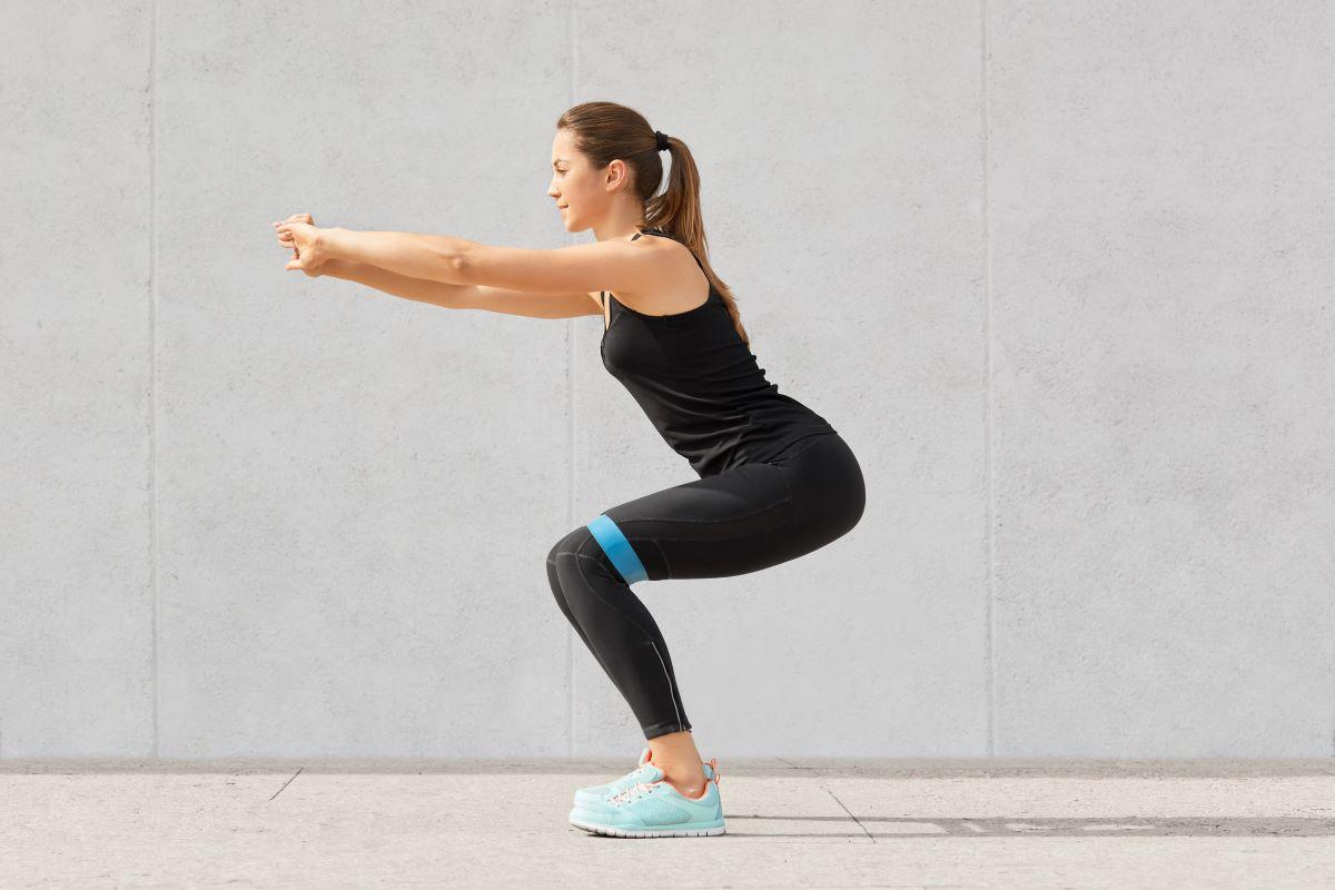 Cintura stretch Yoga Esercizio Palestra Aerobica Allenamento Bande di Resistenza Elastico ad anello