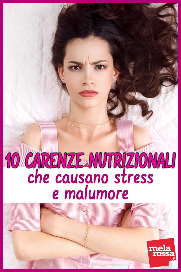 Carenze nutrizionali che causano malumore