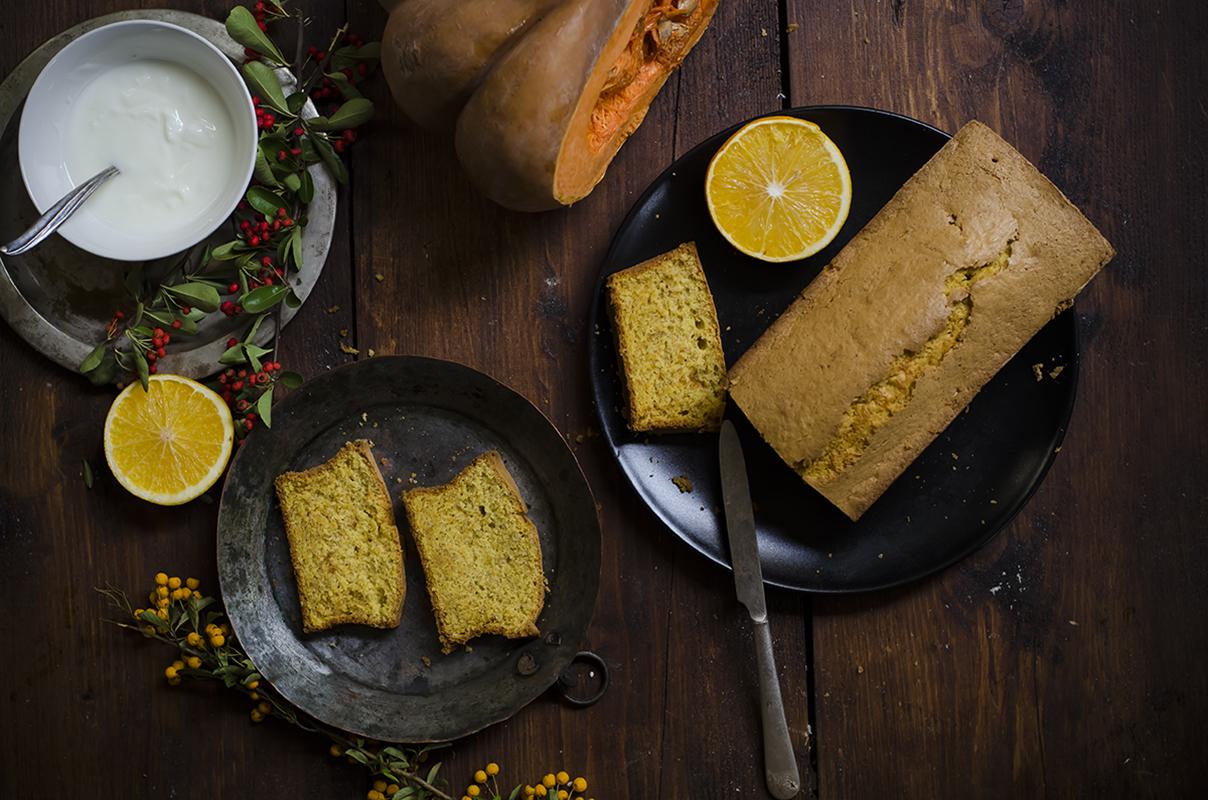 torta di zucca light