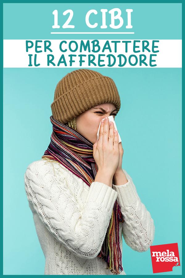 raffreddore:  i cibi per prevenire e combatterlo