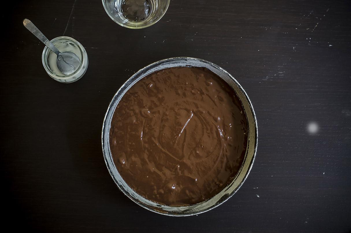 torta light cacao teglia