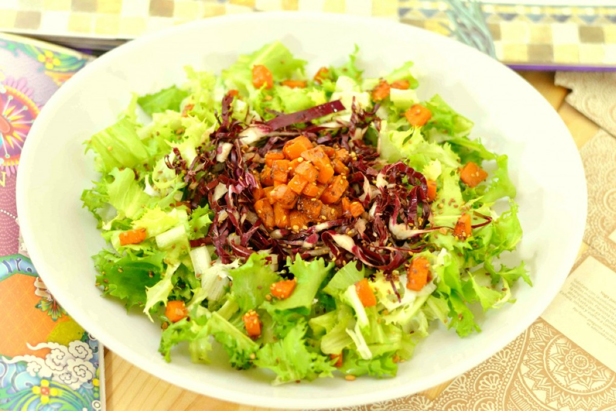 insalata indivia radicchio zucca semini