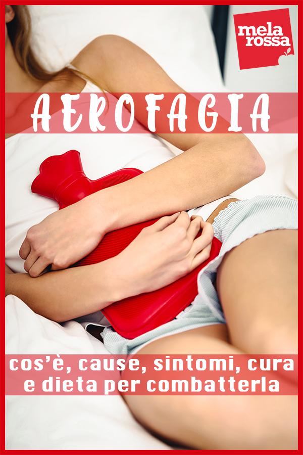 aerofagia: cos'è, cause, sintomi e cura