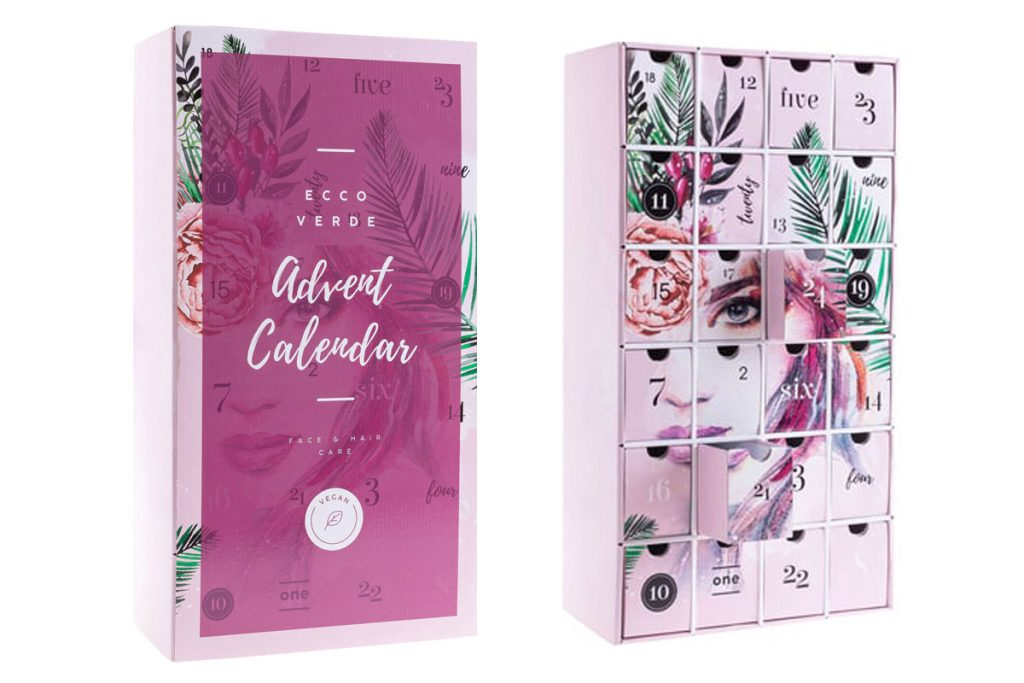 Calendari Avvento Natale 2019 beauty Ecco Verde