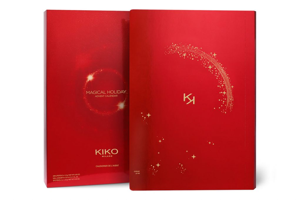 Calendari avvento Natale 2019 beauty Kiko